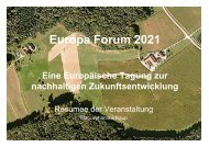 Europa Forum 2021 - Europa Steiermark