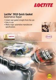 Loctite® 5910 Quick Gasket Automotive Repair - Henkel