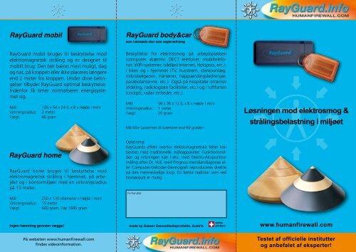 a. Download dansk RayGuard brochure klik her - RayGuard Human ...