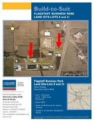 Flagstaff Business Park Land Site-Lots 8 and 21 - Cassidy Turley