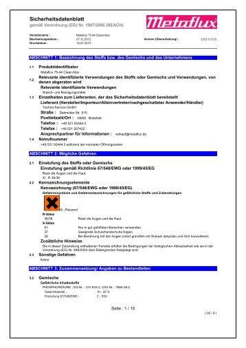 Metaflux 75-44 SDB