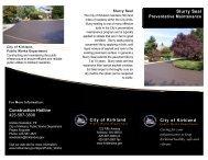 Slurry Seal Brochure - City of Kirkland