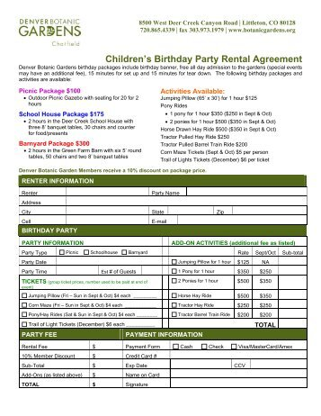 Party Transport Rental Agreement SpokanePartyBuscom