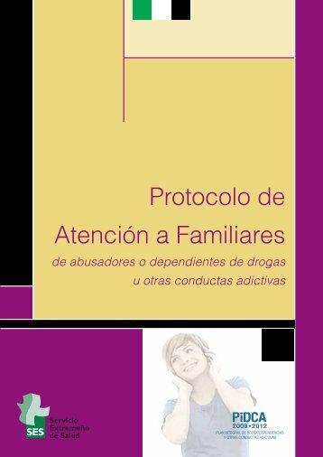 Protocolo de Atención a Familiares - Plan Nacional sobre drogas