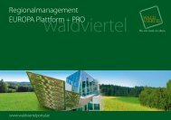 Download: Regionalmanagement Folder.pdf - Waldviertel