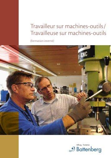 Travailleur sur machines-outils - Fondation Battenberg