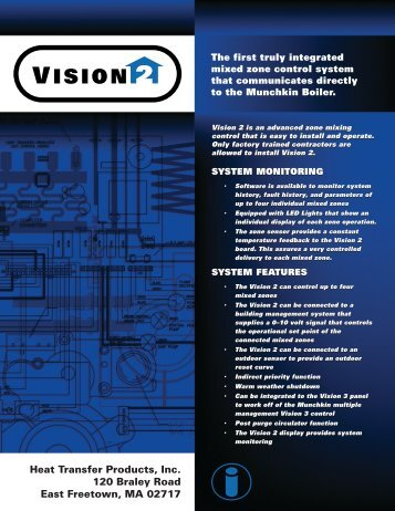 Vision 2 - Heat Transfer Products, Inc
