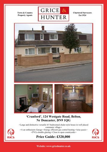 'Cranford' 124 Westgate Road Belton - Grice & Hunter