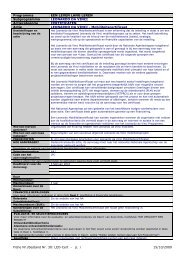 Fiche Nr./Bestand Nr. 30: LEO-Cert - p. 1 15/10/2009 Programma ...
