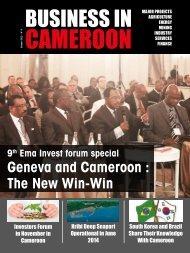 Geneva and Cameroon : The New Win-Win