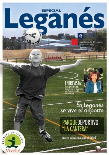 Revista fútbol especial Leganes - Ayuntamiento de Leganés