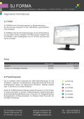 SJ FORMA - SJ Software GmbH - Seite 4