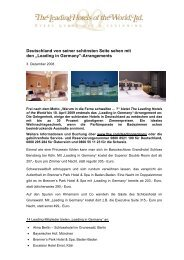 Leading in Germany - Leading Hotels of the World