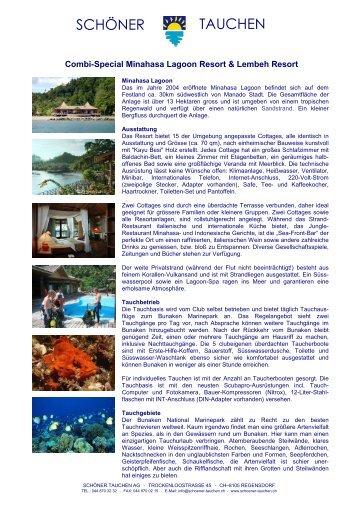 Minahasa Lagoon & Lembeh Resort Special 2007 - Tauchen ...