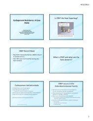 Carbapenem Resistance: A Case Study Is CRKP the New Superbug ...