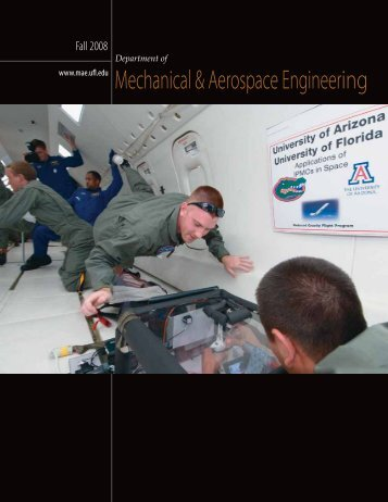 Mechanical & Aerospace Engineering - Department of Mechanical ...