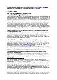 Referat Grete Dorner (pdf-Datei, 30KB) - Österreichisches Institut für ...
