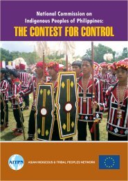 The Contest for Control - Asian Indigenous and Tribal Peoples ...