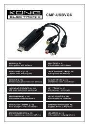 CMP-USBVG6 - Sun Electronics