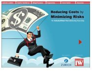Reducing Costs by Minimizing Risks How Culture and Safety Impact ...