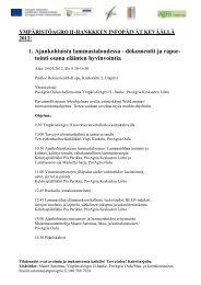 Kevään 2012 YmpäristöAgro II infotilaisuudet .pdf - ProAgria Oulu