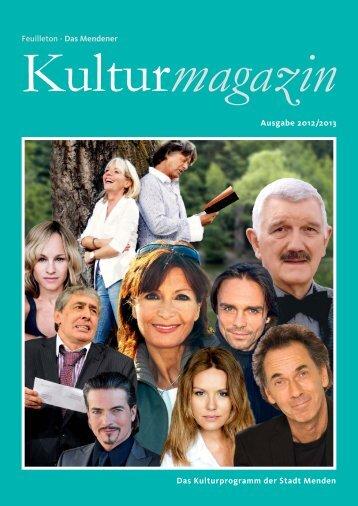 Kulturmagazin 2012/2013 - Menden