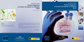 Programa(pdf) - Dirección General de Fondos Comunitarios