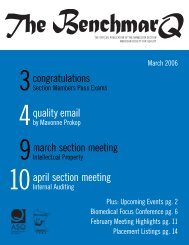 quality email - Minnesota Section ASQ