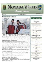Nr. 2(7) Februāris - Inčukalns.lv