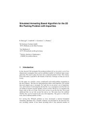 Simulated Annealing Based Algorithm for the 2D Bin Packing ...