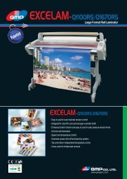 Large Format Roll Laminator - XL Graphics
