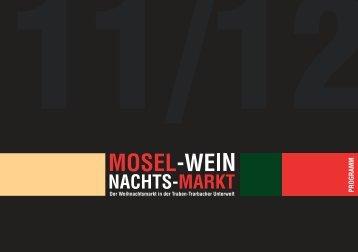 Mosel Wein Nachts Markt Programm