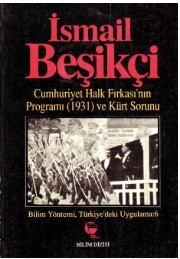 Cumhuriyet Halk firkasi Programi (1931) ve Kurt Sorunu