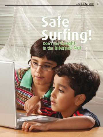 Safe Surfing! Don't Get Caught in the Internet Net - Saudi Aramco