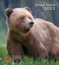 View our 2011 Annual Report. - WildEarth Guardians