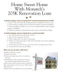 Hit the nail on the head with 203K financing - Monarch Bank - Page 4