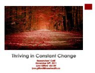 Thriving in constant change - Fraser Health Authority