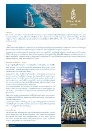 Location Burj Al Arab is part of The Jumeirah Beach Resort complex ...