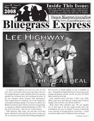 Download - Oregon Bluegrass Association