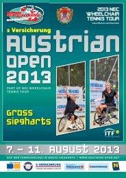 Turnierbroschüre 2013 - Austrian Open