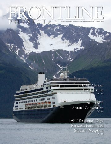 IAFP Alaskan CME Cruise 2011 IAFP Annual Convention IAFP ...