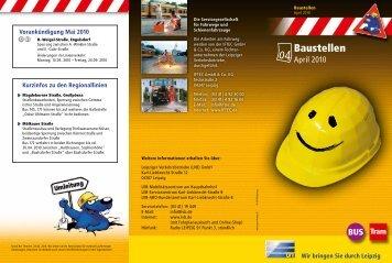 Baustellen - LVB