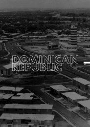 dominican republic, the transition to modernity
