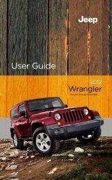 2012 Jeep Wrangler User's Guide - AMERICAN AUTO CLUB