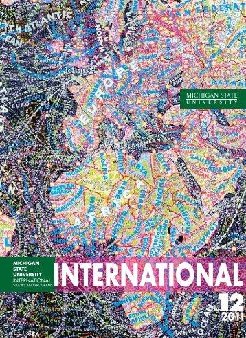 International Studies And Program - Michigan State University