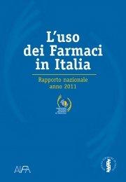 L'uso dei farmaci in Italia - Rapporto nazionale anno 2011 - Istituto ...