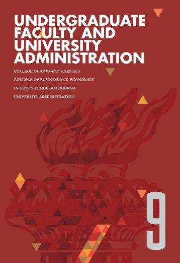 university faculty & administration - AUK
