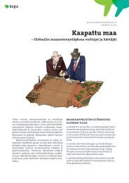 Kaapattu maa - Kepa.fi
