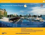Camp Victoria ESL Summer Program - Victoria International High ...