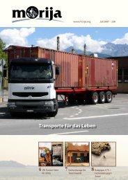 Transporte für das Leben - Morija